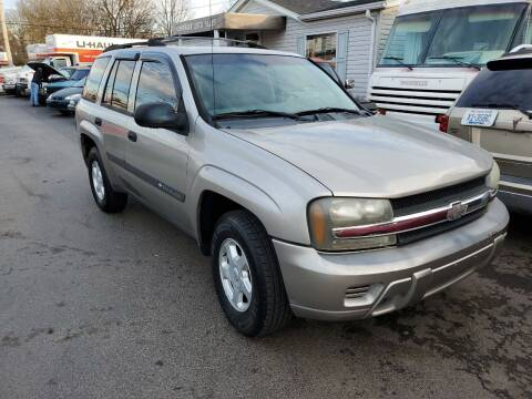 2003 Chevrolet TrailBlazer for sale at Cartraxx Auto Sales in Owensboro KY