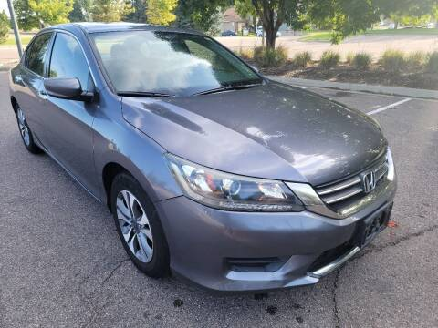 2013 Honda Accord for sale at Red Rock's Autos in Denver CO