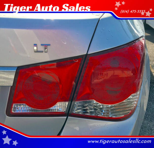 2014 Chevrolet Cruze for sale at Tiger Auto Sales in Columbus OH