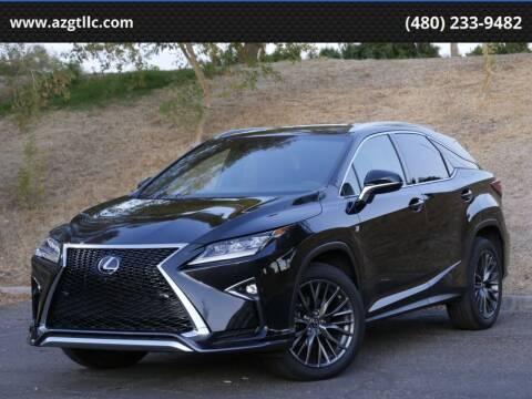 2018 Lexus RX 350 for sale at AZGT LLC in Phoenix AZ