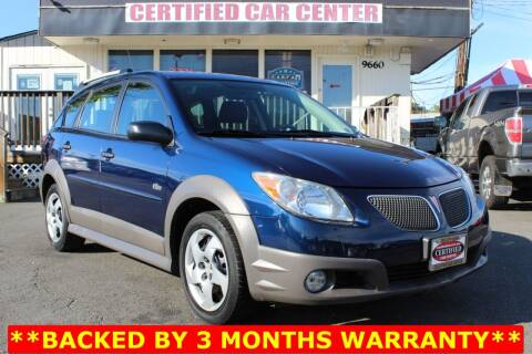 2005 Pontiac Vibe for sale at CERTIFIED CAR CENTER in Fairfax VA