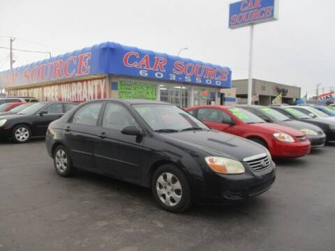 2007 Kia Spectra for sale at CAR SOURCE OKC - CAR ONE in Oklahoma City OK