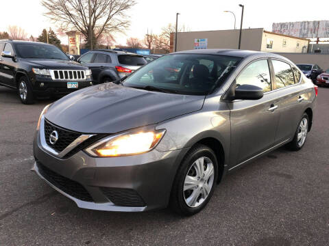 2016 Nissan Sentra for sale at Nice Cars Auto Inc in Minneapolis MN