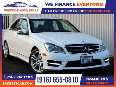 2014 Mercedes-Benz C-Class for sale at Prestige Wholesale in Sacramento CA