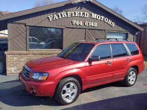 2003 Subaru Forester for sale at Fairfield Motors in Fort Wayne IN