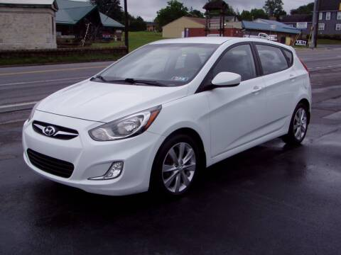 2012 Hyundai Accent for sale at The Autobahn Auto Sales & Service Inc. in Johnstown PA