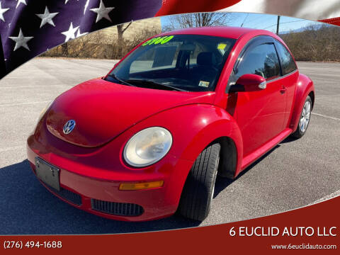 2010 Volkswagen New Beetle for sale at 6 Euclid Auto LLC in Bristol VA