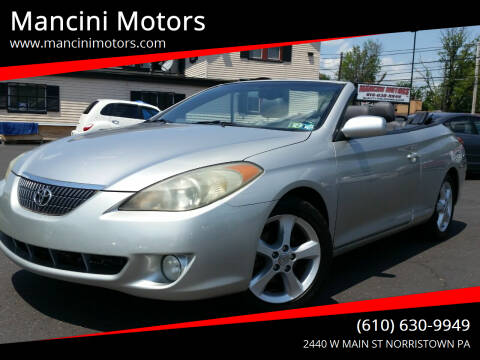 2006 Toyota Camry Solara for sale at Mancini Motors in Norristown PA
