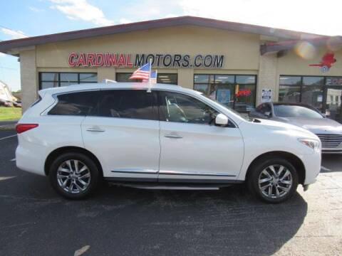 2015 Infiniti QX60 for sale at Cardinal Motors in Fairfield OH