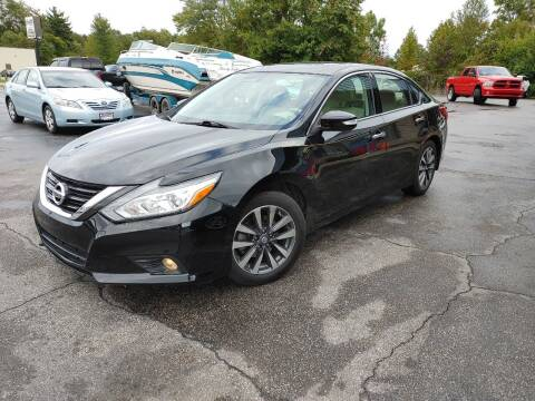 2017 Nissan Altima for sale at Cruisin' Auto Sales in Madison IN