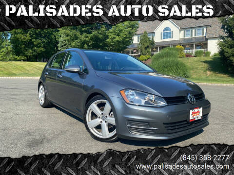 2017 Volkswagen Golf for sale at PALISADES AUTO SALES in Nyack NY