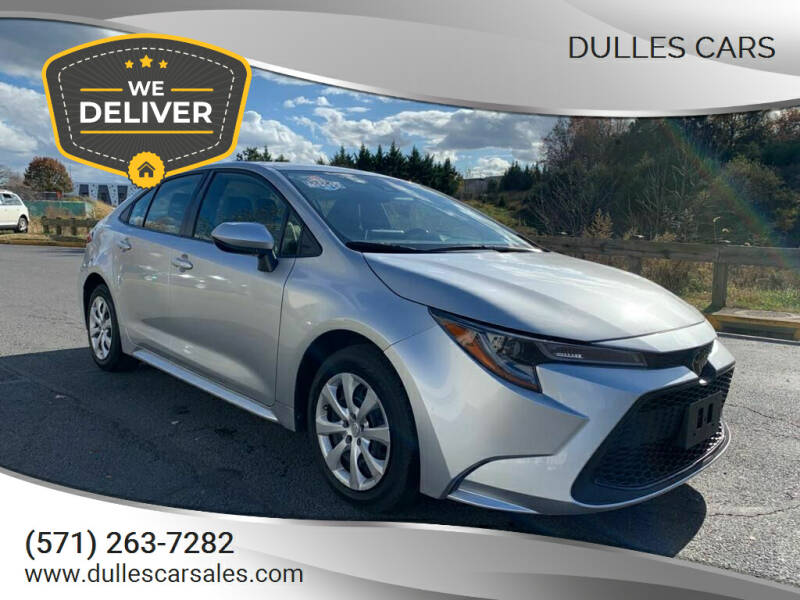 2020 Toyota Corolla for sale at Dulles Cars in Sterling VA