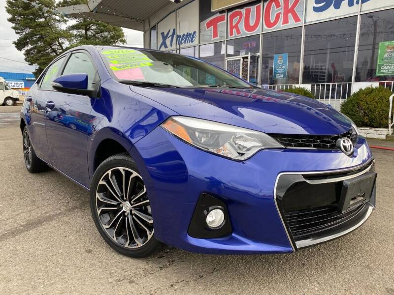 2016 Toyota Corolla for sale at Xtreme Truck Sales in Woodburn OR