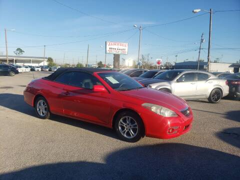 2007 Toyota Camry Solara for sale at Jamrock Auto Sales of Panama City in Panama City FL