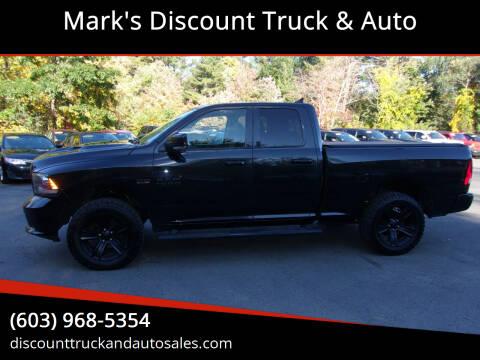2016 RAM Ram Pickup 1500 for sale at Mark's Discount Truck & Auto in Londonderry NH