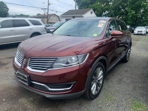 2016 Lincoln MKX for sale at Charles and Son Auto Sales in Totowa NJ