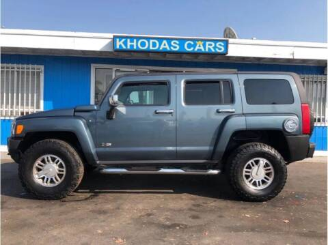 2006 HUMMER H3 for sale at Khodas Cars in Gilroy CA