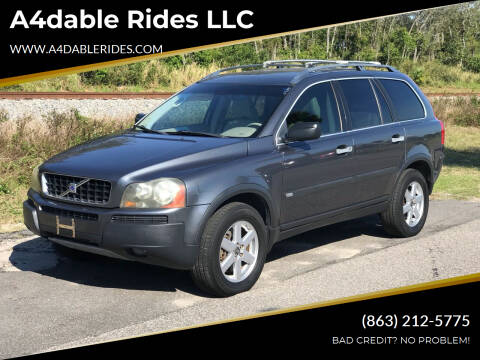 2005 Volvo XC90 for sale at A4dable Rides LLC in Haines City FL