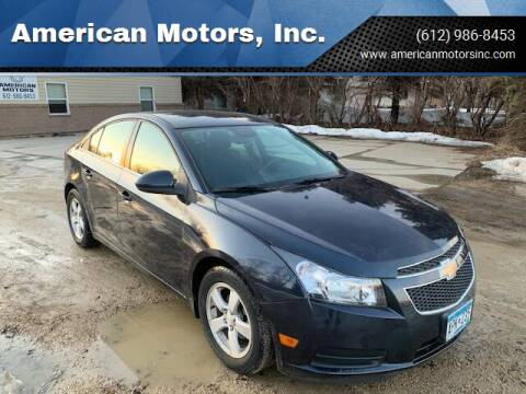 2014 Chevrolet Cruze for sale at American Motors, Inc. in Farmington MN