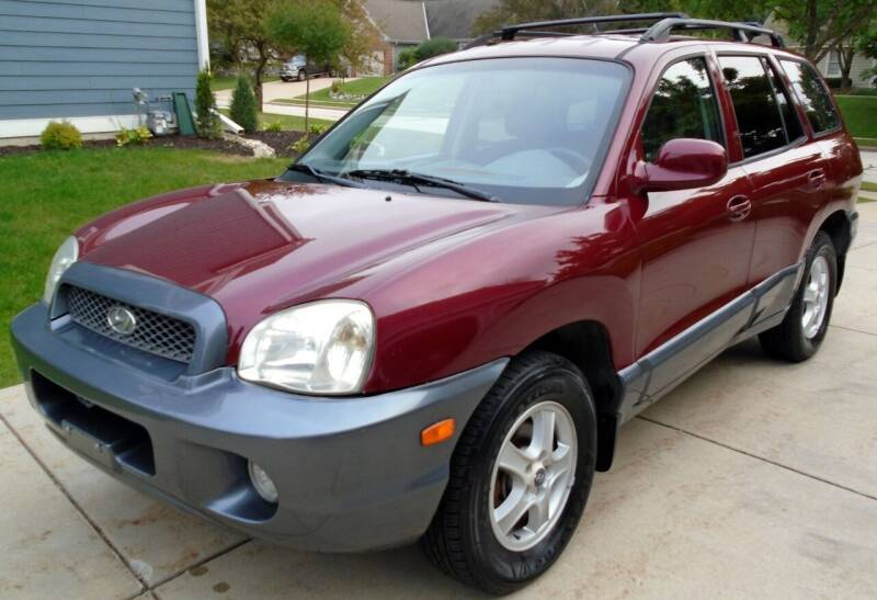 2002 Hyundai Santa Fe for sale at Waukeshas Best Used Cars in Waukesha WI