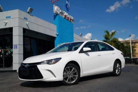 2017 Toyota Camry for sale at Tech Auto Sales in Hialeah FL