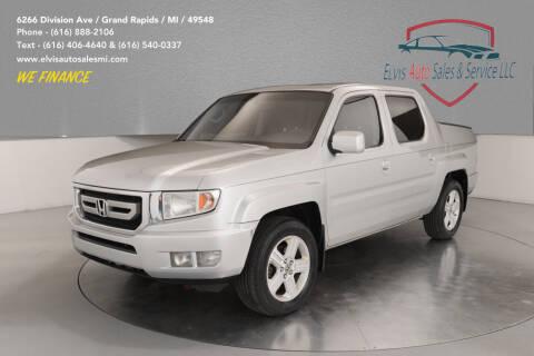 2009 Honda Ridgeline for sale at Elvis Auto Sales LLC in Grand Rapids MI