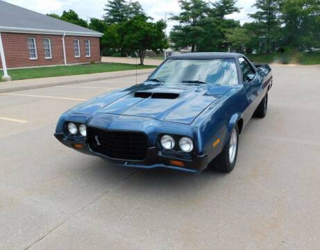 1972 Ford Ranchero for sale at WEST PORT AUTO CENTER INC in Fenton MO