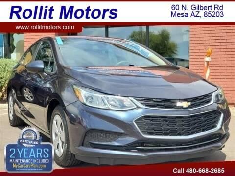 2016 Chevrolet Cruze for sale at Rollit Motors in Mesa AZ