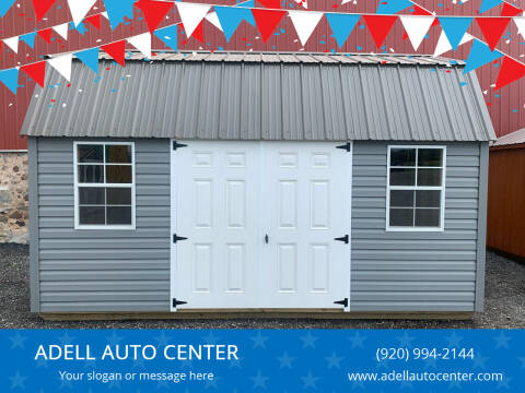 2020 DOUBLE H BUILDINGS 10X16 LOFTED GARDEN SHED for sale at ADELL AUTO CENTER in Waldo WI