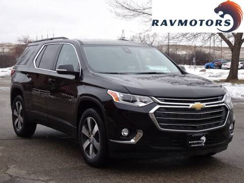 2020 Chevrolet Traverse for sale at RAVMOTORS in Burnsville MN