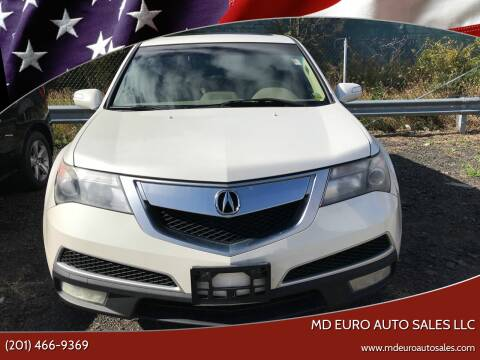 2010 Acura MDX for sale at MD Euro Auto Sales LLC in Hasbrouck Heights NJ