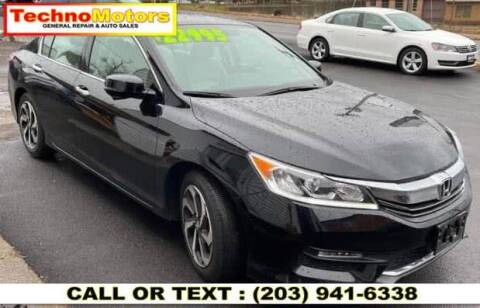 2016 Honda Accord for sale at Techno Motors in Danbury CT