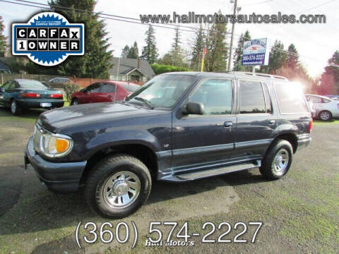 1999 Mercury Mountaineer for sale at Hall Motors LLC in Vancouver WA