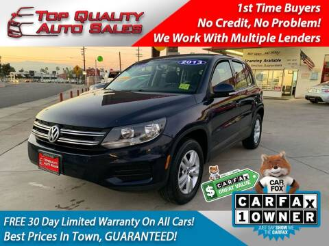 2013 Volkswagen Tiguan for sale at Top Quality Auto Sales in Redlands CA
