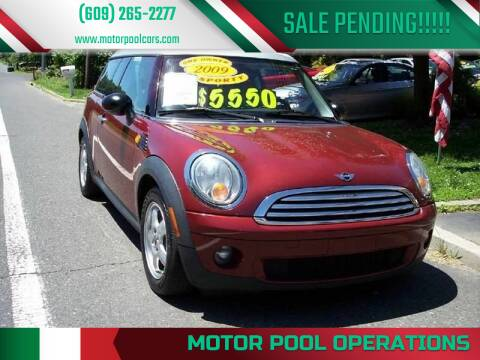 2009 MINI Cooper Clubman for sale at Motor Pool Operations in Hainesport NJ