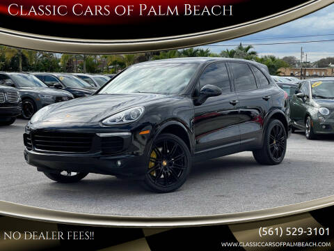 2017 Porsche Cayenne for sale at Classic Cars of Palm Beach in Jupiter FL
