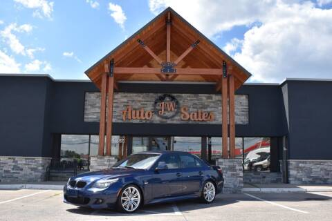 2010 BMW 5 Series for sale at JW Auto Sales LLC in Harrisonburg VA