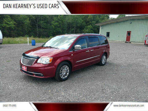 2014 Chrysler Town and Country for sale at DAN KEARNEY'S USED CARS in Center Rutland VT