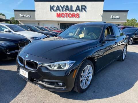2018 BMW 3 Series for sale at KAYALAR MOTORS in Houston TX