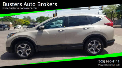 2017 Honda CR-V for sale at Busters Auto Brokers in Mitchell SD
