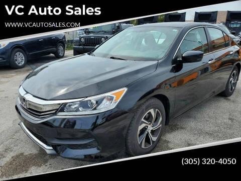 2017 Honda Accord for sale at VC Auto Sales in Miami FL