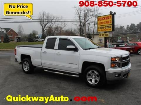 2015 Chevrolet Silverado 1500 for sale at Quickway Auto Sales in Hackettstown NJ