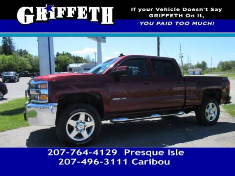 2015 Chevrolet Silverado 2500HD for sale at Griffeth Mitsubishi - Pre-owned in Caribou ME