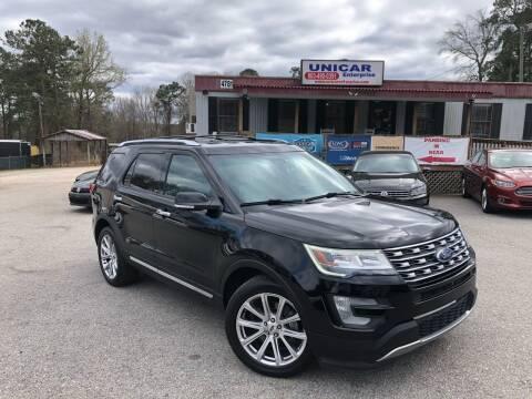 2016 Ford Explorer for sale at Unicar Enterprise in Lexington SC