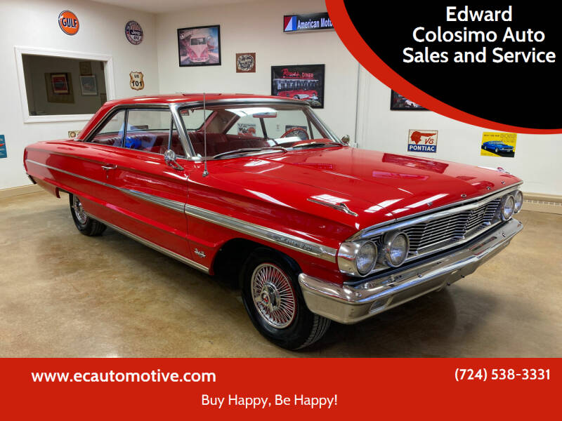 1964 Ford Galaxie 500 for sale at Edward Colosimo Auto Sales and Service in Evans City PA