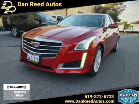 2016 Cadillac CTS for sale at Dan Reed Autos in Escondido CA
