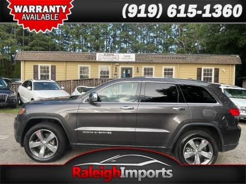 2015 Jeep Grand Cherokee for sale at Raleigh Imports in Raleigh NC