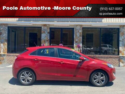 2015 Hyundai Elantra GT for sale at Poole Automotive in Laurinburg NC