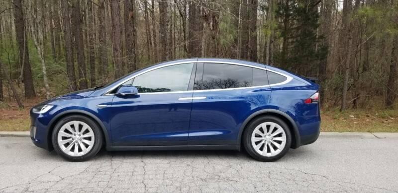2016 Tesla Model X for sale at MATRIXX AUTO GROUP in Union City GA