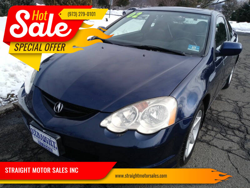 2002 Acura RSX for sale at STRAIGHT MOTOR SALES INC in Paterson NJ